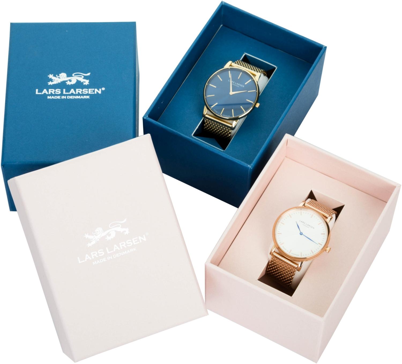 zegarek damski Lars Larsen 144GWBLL